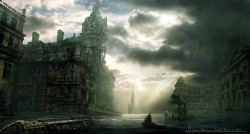 Boat-Matte-Painting-Balmoral-Under-Water